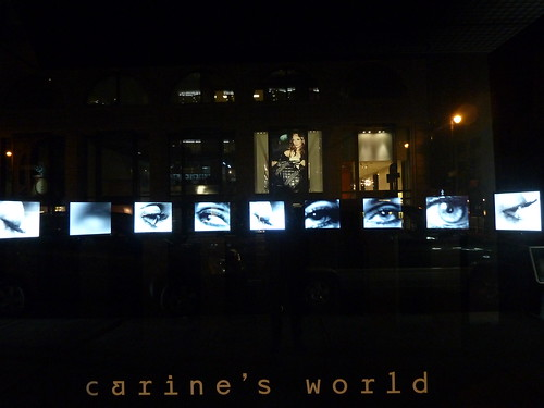 Vitrines Carine's world chez Barneys - New York, septembre 2011