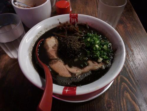 Butao's Black Ramen