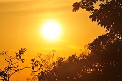 Por do sol . Fotografado por Francisco center bike
