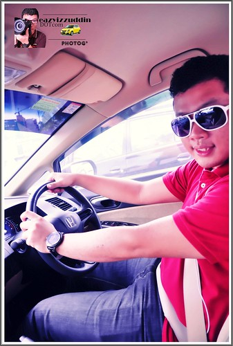 Driving Honda Civic !
