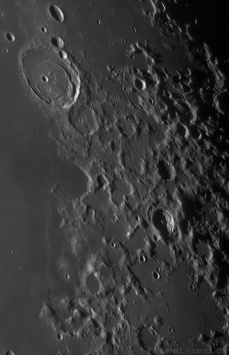 Apollo 17 landing site to Posidonius by Mick Hyde