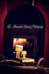 the fireplace.. [99/365] (Alexandra Schwarz Photografie) Tags: canon fire feuer danbo revoltech danboard 1000d