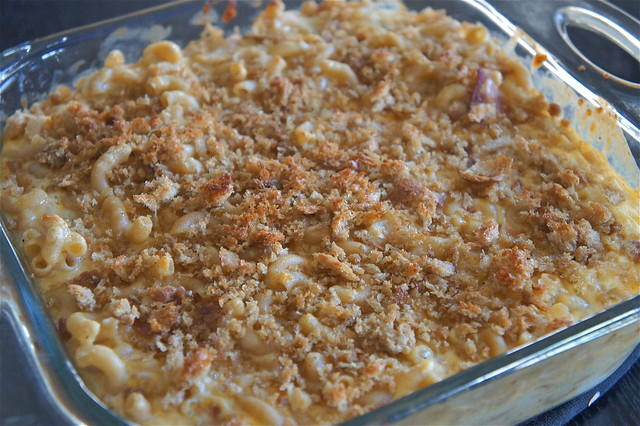 Sweet and Sassy: Emeril's Three-Cheese Baked Macaroni