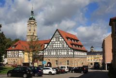 Eisenach (julia_HalleFotoFan) Tags: sunshine thüringen cloudy sunny eisenach fachwerk wartburgkreis
