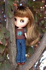 lil missy in a tree