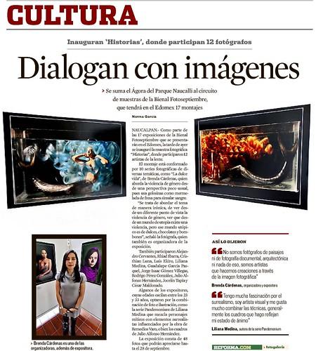 """""""Historias"""" en el Reforma"""