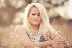 (Cat Lane Photographer) Tags: summer portrait photographer ellis ellie blonde denim hazy catlane