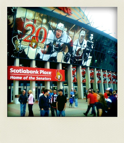 Sens excitement!