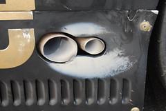 Porsche 956/962 Group C endurance racer engine exhaust, waste gate output (wbaiv) Tags: road 6 cars film sports car monterey nikon aluminum automobile european flat head bare c air 4 tube over engine twin racing cams vehicles turbo prototype porsche frame cylinder vehicle hours 24 1855mm laguna dual 1855 jacks texaco seca endurance 1980s per newman injection valves mid lemans turbine transmission automobiles fuel dyson compressor intercooler racer gruppe supercharged spacer aft longdistance oxidized oxide monocoque imsa 962 956 rothmans dohc intercooled f4556 reactive reacted d40x watercooledheads aircooledcyliders