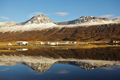 In Fáskrúðsfjörður (*Jonina*) Tags: mountains reflection iceland ísland speglun fjöll coth fáskrúðsfjörður abigfave faskrudsfjordur hoffell absolutelystunningscapes jónínaguðrúnóskarsdóttir