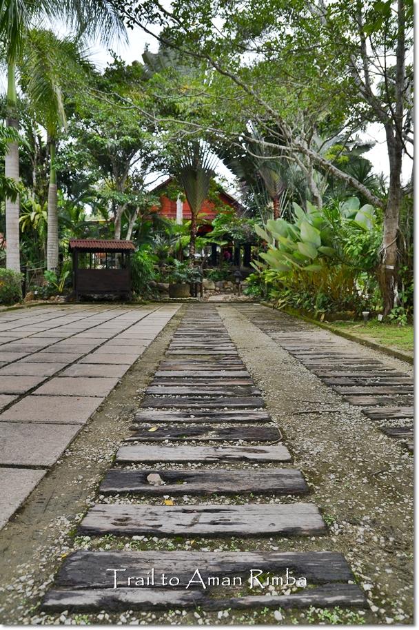 Trail to Aman Rimba
