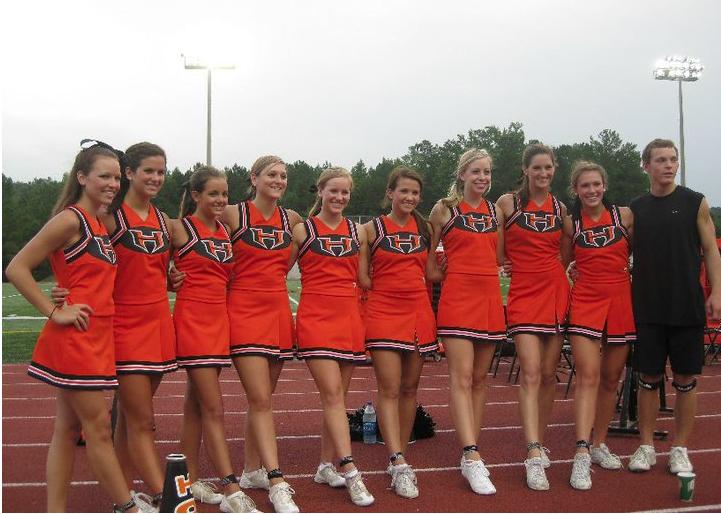 f9b4357e9 ... their cheerleader uniforms