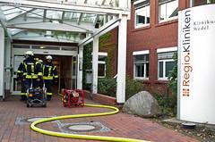 Kellerbrand Klinik Wedel (Schleswig-Holstein) 22.10.11