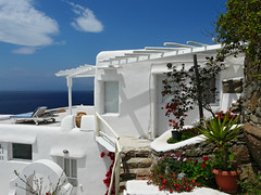 my home in greece (duqueros) Tags: island europa europe honeymoon apartment hellas insel greece griechenland appartement mykonos marinaview kyklades kykladen   duqueiros