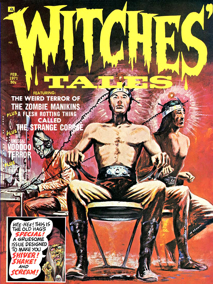 Witches' Tales Vol. 3 #1 (Eerie Publications 1971)