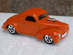 Hot Wheels 41 Willys Coupe  Street Hot Rod (beetle2001cybergreen) Tags: street hot wheels rod coupe willys 41