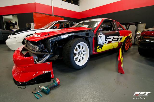 Kyle Pollard S13 fender repair