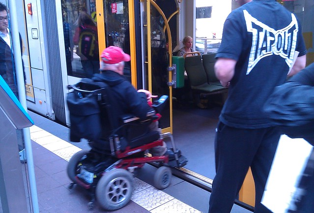Accessible tram