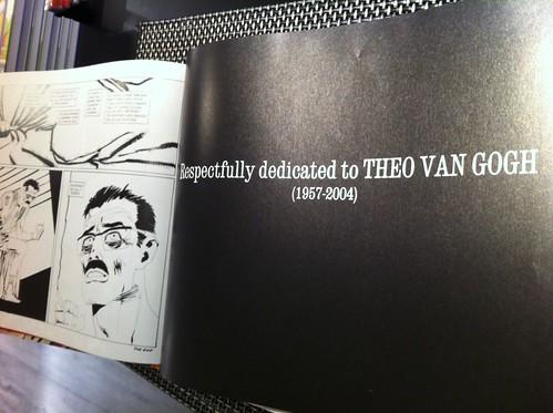 Frank Miller honours Theo van Gogh