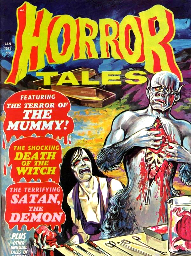 Horror Tales - Vol. 3 #1 (Eerie Publications, 1971)