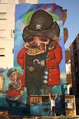 El piratn (Napol One) Tags: valencia wall graffiti big piratas alfafar napol