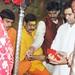 Rahul Gandhi performing pooja at Vindhyachal (1)