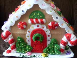 casa Natal  em feltro  frente