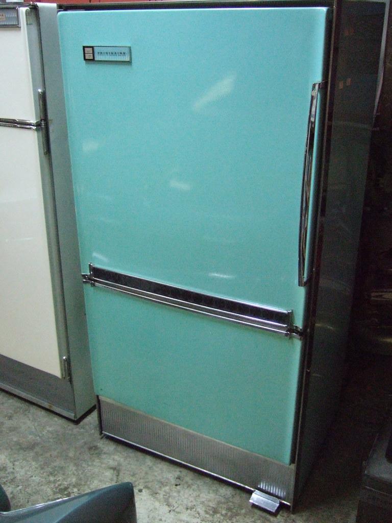 1961 F R I G I D A I R E IMPERIAL FROST-PROOF (PhilR2) Tags: vintage fridge  gm turquoise imperial