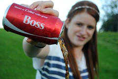 Share A Coke With You Boss (Chloe Mellark~DeLonge) Tags: boss party love wow wonderful this with you like bubbles coke went well your why job share edit alot grest