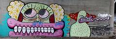 Sweet Toof/Paul Insect (delete08) Tags: street urban streetart london graffiti delete
