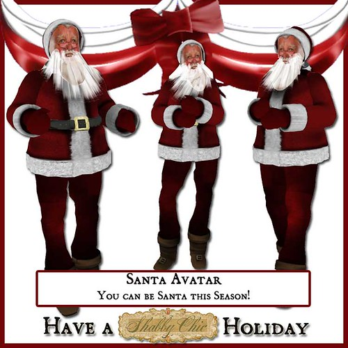 Shabby Chic Santa Avatar  by Shabby Chics