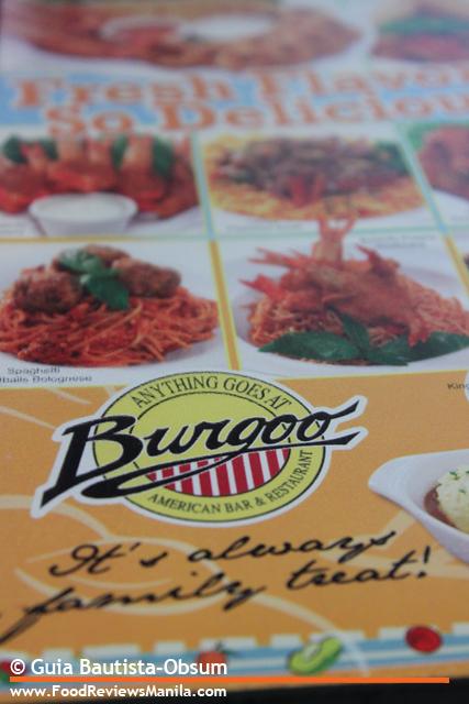 Burgoo menu