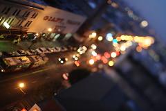 Mission (Dustin Diaz) Tags: sanfrancisco city night landscape bokeh mission tiltshift 45mmf28pce nikond3s