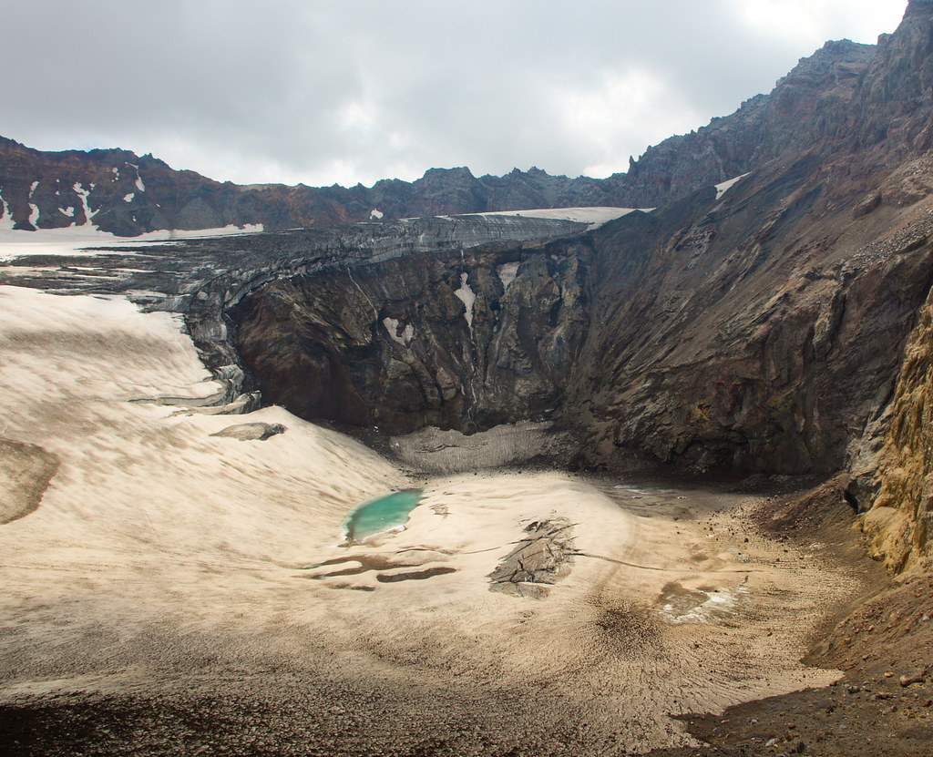 Kamchatka volcán
