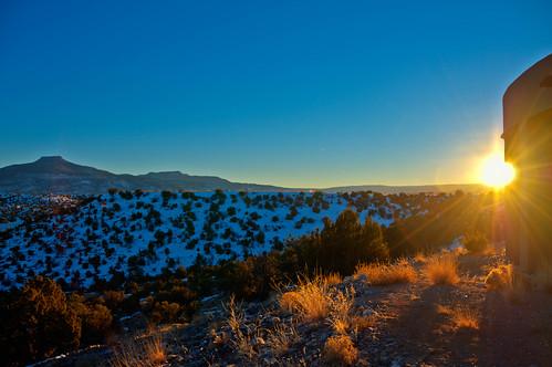 Sunset on Cerro Pedernal | Abiquiu, New Mexico