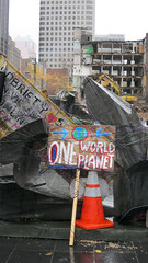 One World Planet CU (Factotumm) Tags: occuponsmontreal occupymontreal