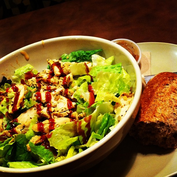 10 on 10 #6 Salad for dinner via Panera.