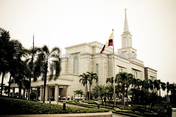 Guayaquil Ecuador Vintage LDS Temple Prints -0202
