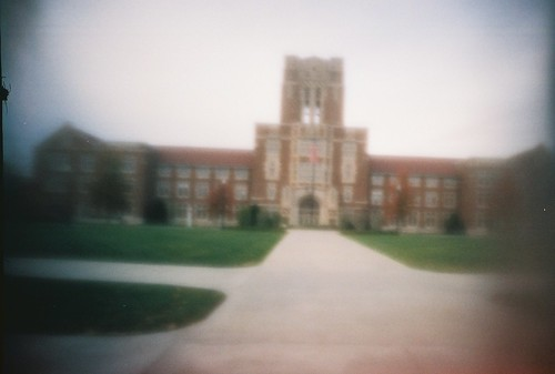 Ayres Hall, through the pinhole