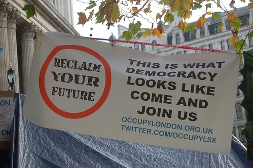 Occupy St Pauls Nov 11 8