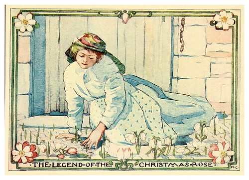 001-La leyenda de la rosa de Navidad-Legends and stories of Italy for children 1909- Katharine Cameron