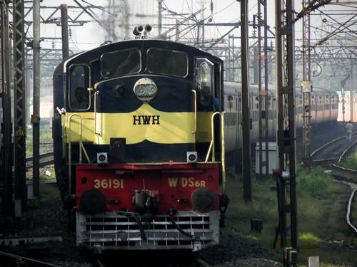 無料写真素材, 乗り物・交通, 電車・列車, 風景  インド