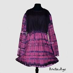 Pink (Atelier-Age) Tags: pink original fashion dress handmade clothes age batik atelier shibori tunic tunika batika originln