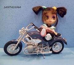 Mayanna e sua motoca!!