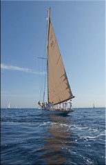 quiet moments (mhobl) Tags: sea sailing regatta sailship sainttropez tuiga