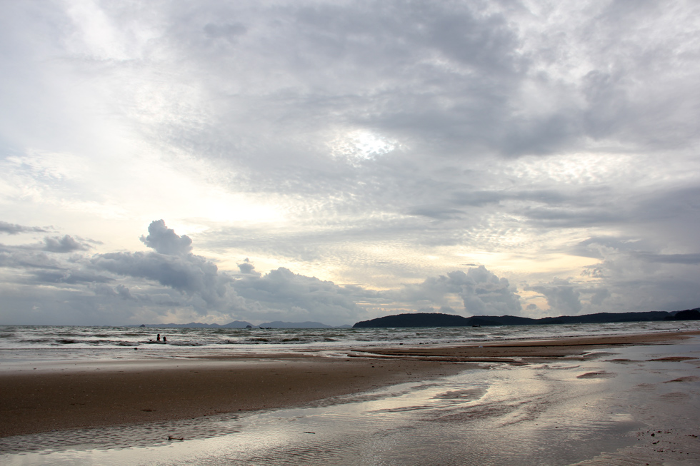 Dramatic Clouds at Ao Nang Beach