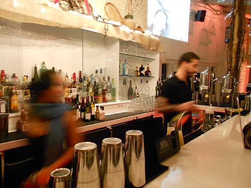 Bartenders at POV for Apres Ski