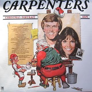 CarpentersChristmasPortraitLPFront