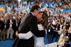 Mariano Rajoy y Alícia Sánchez-Camacho
