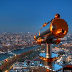 Longue vue (AO-photos) Tags: paris seine nikon view vue hdr passerelle longue jumelle debilly d300s